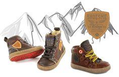Shoesme Urban bont gevoerde veterschoenen voor échte stoere boys.