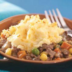 Simple Shepherd's Pie - using gravy for filling