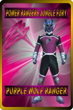 Purple Wolf Ranger by rangeranime on Power Rangers Fan Art, Power Rangers Jungle Fury, Power Rangers Ninja Storm, Mighty Morphin Power Rangers, Percy Jackson's Greek Heroes, Power Rengers, Green Ranger, Ghost Rider, Martial Arts