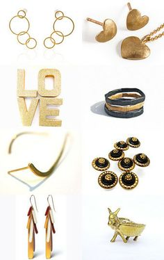 Golden Easter by riskodesign on Etsy--Pinned with TreasuryPin.com