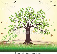 Vector - 	Tree vector - stock illustration, royalty free illustrations, stock clip art icon, stock clipart icons, logo, line art, EPS picture, pictures, graphic, graphics, drawing, drawings, vector image, artwork, EPS vector art