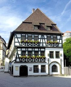 Eisenach ~ Thüringen ~ Germany ~ Martin Luther's Childhood home.