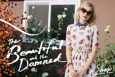 The Urban Outfitters 'Beautiful and the Damned' Lookbook is Feminine #urbanoutfitters #fashion trendhunter.com