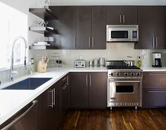 "Always consider the size of your space. ""Don't put a 48-inch range in a small kitchen.""   - HouseBeautiful.com"
