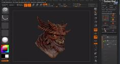【ZBrush】PolyPaintingの基本と、肌をペイントするテクニック。by 3dmotive の紹介! | CGchips
