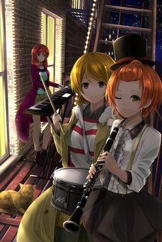 Nishikino Maki,Love Live!,School Idol Project, Love Live! School Idol Project,Anime,Аниме,Koizumi Hanayo,Hoshizora Rin,orien