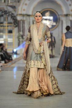 Kuki Concepts - Pakistani Bridal Fashion at Pantene Bridal Couture Week 2013 PBCW Lahore