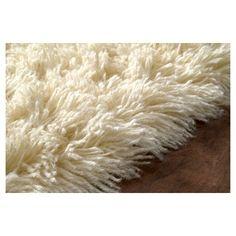 nuLOOM 100% Wool Hand Woven Genuine Greek Flokati Area Rug - Off-White (2' 6 x 8'), Off White