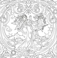 Angel Coloring Pages, Colouring Pages, Adult Coloring Pages, Free Coloring, Coloring Books, Butterfly Fairy, Rock Painting Designs, Beautiful Fairies, Painted Rocks