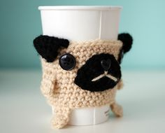 We'll have to make our own - no pattern. Looks like single crochet and felt, maybe crochet, mouth and ears with button eyes