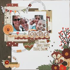 Love Together **Simple Stories DT** - Scrapbook.com - Made with Cozy Christmas collection by Simple Stories.