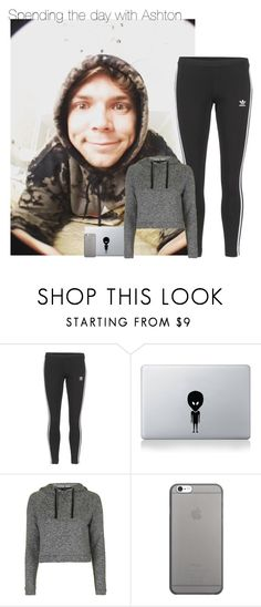 """""""Untitled #7743"""" by fanny483 ❤ liked on Polyvore featuring adidas Originals, Vinyl Revolution, Topshop and Native Union"""