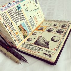 The existence of this man is only about holding the colorful lamp. Bullet Journal Art, Bullet Journal Ideas Pages, Bullet Journal Inspiration, Journal Pages, Cool Journals, Art Journals, Notebook Art, Sketch Journal, Art Diary