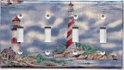 Lighthouse Quad Light Switch Cover 105