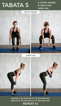 At-home and anywhere Dumbbell Tabata Workout – perfect for getting in both strength and cardio. Set your interval timer, grab a set of dumbbells and get this workout done! Fit Mitten Kitchen, Weight Lifting, Weight Loss, Weight Training, 30 Minute Yoga, 30 Minute Workout, Hiit Benefits, What Is Hiit, Morning Yoga