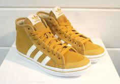 Adidas Honey Stripes Mid Mesa / White