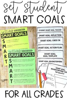 11 Best Goal Setting Examples (students) images in 2018 | Goal