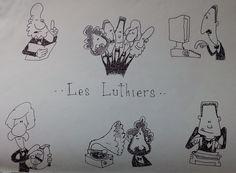 Les Luthiers - dibujos sueltos - 1999