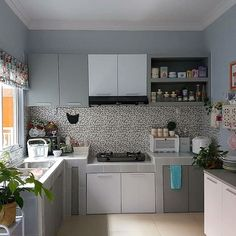 63 choose best color for small kitchen remodel 44 Kitchen Room Design, Home Room Design, Home Decor Kitchen, Interior Design Kitchen, Kitchen Furniture, Home Kitchens, Kitchen Ideas, Kitchen Walls, Kitchen Units