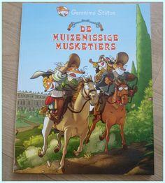 De muizenissige musketiers Geronimo Stilton recensie review Frankrijk 1624…