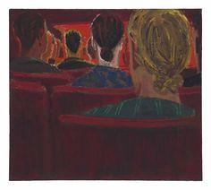 David Park, 1954, The Concert