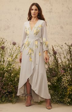 Hope & Ivy The Elena Embroidered Wrap Dress With Tie Waist A divine design completed in true Hope & Ivy handwriting! Intricate embroidery adorns the Dress Skirt, Wrap Dress, Occasion Wear, Dress To Impress, Classic Style, Outfits, Beautiful, Ivy, Dresses