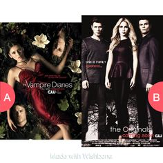 The Vampire Diaries or The Originals Tap to vote http://sms.wishbo.ne/U1ak/iJxRv0FhWu