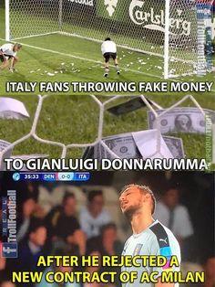 Italy fans 😂👍
