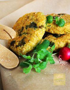 Ekscentryczny Parowar: Kotleciki jaglane z brokułem