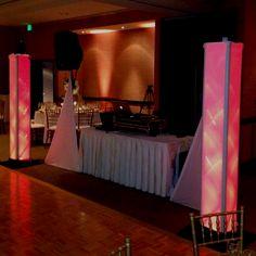 DJ setup at Valencia Hotel in Santana Row, San Jose