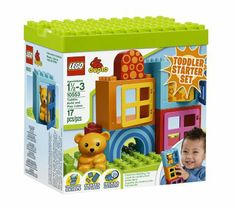 Amazon.com: LEGO DUPLO Toddler Build and Play Cubes 10553: Toys & Games