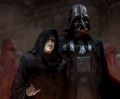 The Emperor and Darth Vader