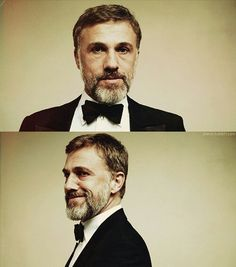 young or old, beard or no beard, glasses or no glasses... Christoph Waltz, you have my heart.