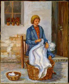 #Daily #Life in #Spain #MariaLuisaIbanezArt #Art #Painting #Spain