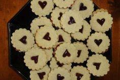 Jak upéct linecká kolečka ze žitné mouky | recept Menu, Cookies, Desserts, Food, Menu Board Design, Biscuits, Meal, Deserts, Essen