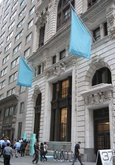 The first time I visited the Tiffany's store in NYC was when I was 5 years old. My grandfather and I picked out my engagement ring. To this day, I visit it every three months.