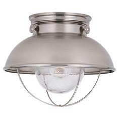 $119 Sebring Flush Light by Sea Gull Lighting | Wayfair