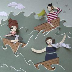 Cut Paper Art & Illustration by James McGowan.