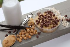 Chickie Dough: chickpea cookie dough spread. Saturdays at the Strathcona market