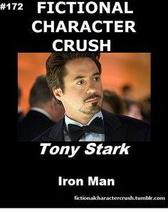 Fictional Character Crush: Tony Stark