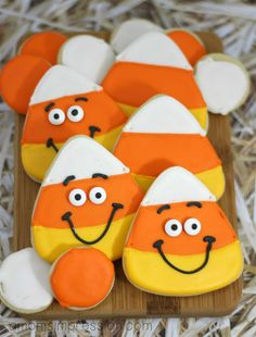 Candy Corn Cookies 1