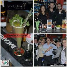 #Chestnuttouch #WorldclassSpain #WorldClass15 @ MaremotoCafe @Chusbartender Maremoto Café & Cocktail