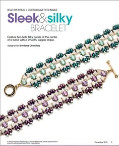 Tutorial Vitrage Kheops beads Silky Beads SuperDuo by Lirigal