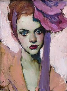 Malcolm Liepke   Pink Flower