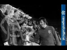 Captain John Greig Lifting The Scottish League Cup (1975)..