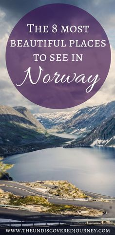 Norway is such a beautiful country with SO much to see and do. Come see what our favorite places to see in Norway are including the scenic views in Norway, beautiful fjords in Norway, and much more. We are SURE 	that you'll add a few of these beautiful spots in Norway to your Norway itinerary. Don't forget to save this to your travel board. You'll want to be able to find this later!