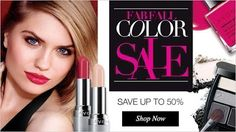 Avon is having up to 50% off during their Fab Fall Color Sale #makeup #beauty