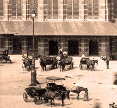 Station Nijmegen rond 1900