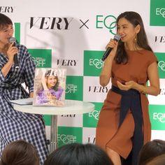 滝沢眞規子さんはInstagramを利用しています:「今日はありがとうございました❤️#大丸札幌#エコフキャンペーン hair&make @hiramotokeiichi styling @takashi_ikeda」