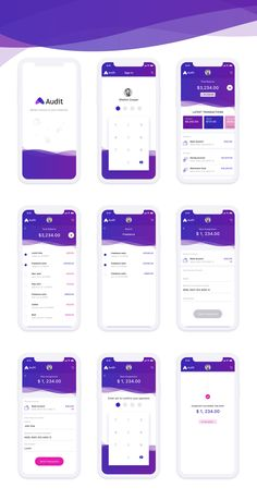 design Audit - Finance Mobile App Concept - Adobe XD - If youre the sort of person. -finance design Audit - Finance Mobile App Concept - Adobe XD - If youre the sort of person. Ios App Design, Mobile Ui Design, Interaktives Design, Android App Design, Layout Design, Logo Design, Android Apps, Android Tricks, Wireframe Design